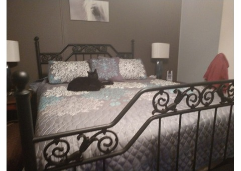 Queen  headboard and footboard