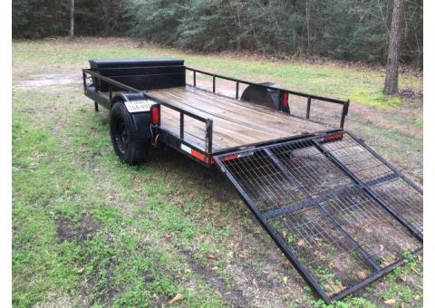 Shop built trailer