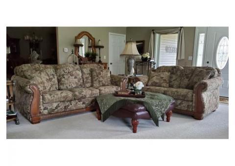 La-Z-Boy Couch, Love Seat & Ottoman