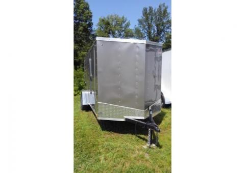 Pace American Outback Deluxe Enclosed Trailer