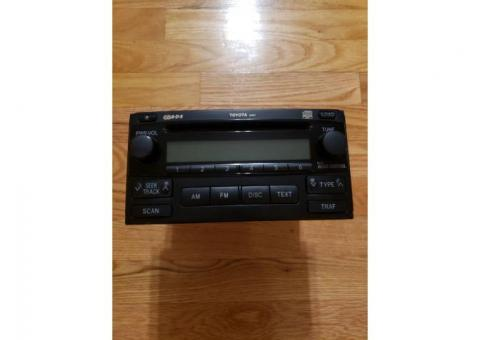 Factory radio for 2008 Toyota Matrix