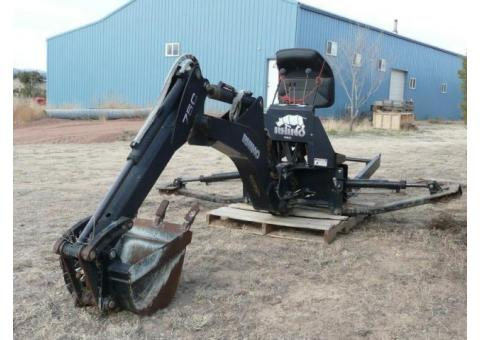 back hoe attachment for case tractors
