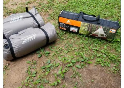 Free camping gear