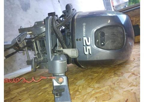 2003 25 hp Yamaha four stroke Parts