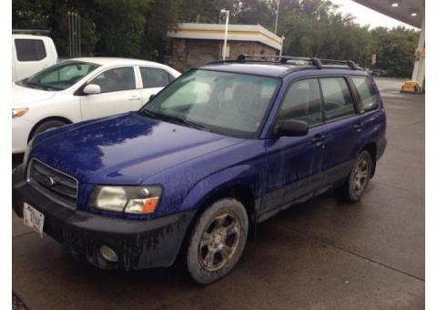 2003 Subaru Forester. $500