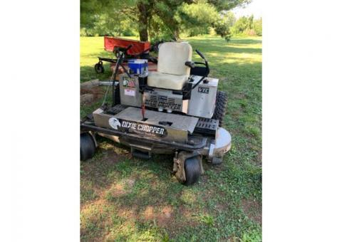 DIXIE CHOPPER ZERO TURN LAWN MOWER XT32 QUAD LOOP / PREFORMS EXCELLENT