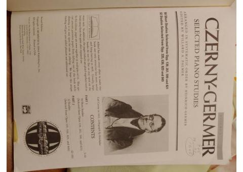 Cerner-Germer     Selected Piano Studies
