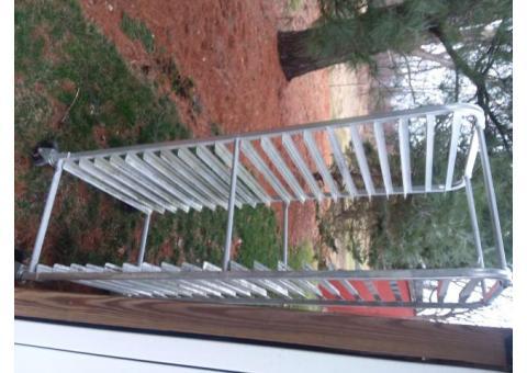 rolling food rack