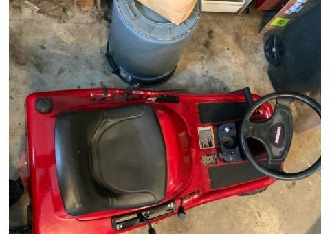 Craftsman Mid-Engine Rider (Sit-down lawn mower)