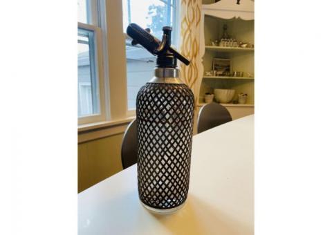 Antique Vintage Collectable Barware Sparklets Seltzer Bottle