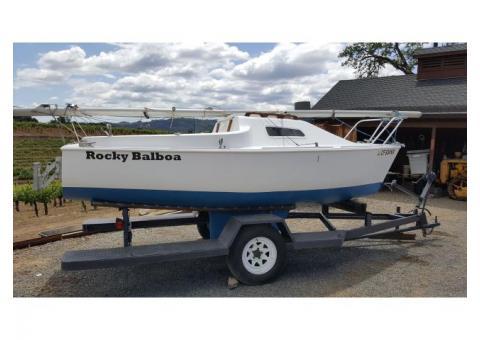Balboa 16 Sailboat