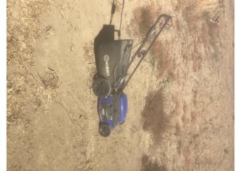 Kobalt corded 120v push mower